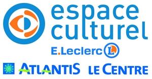 Logo Espace Culturel E. Leclerc Atlantis Le Centre