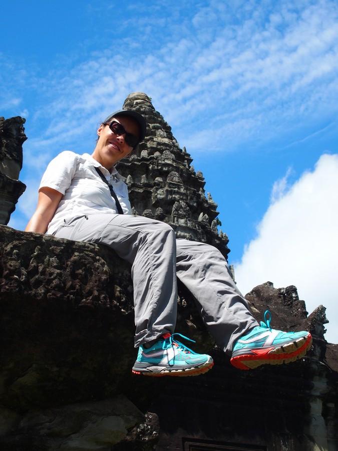 Mes Kalenji Crossover à Angkor