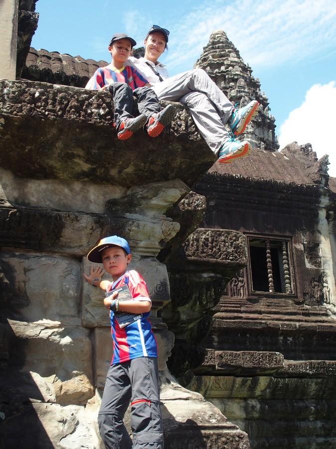 Nos Kalenji Crossover et Crossrock à Angkor