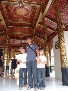 Titouan, Anton et Syl20 au Museum National