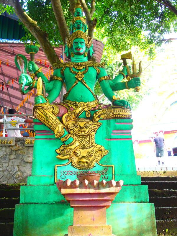 Vishnu à Phnom Sapou - Battambang