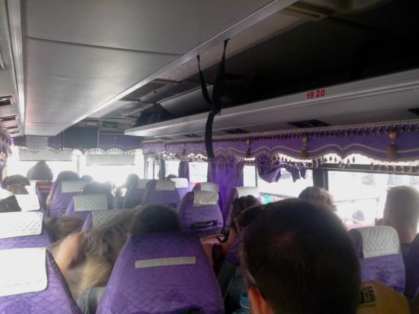 Bus Battambang - Phnom Penh