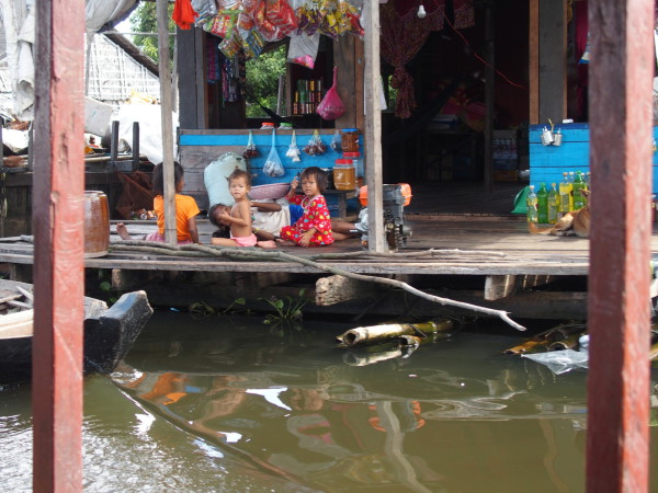 Enfants de Mechrey - Tonle Sap - Cambodge