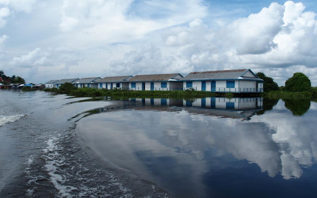 Mechrey : un village sur l'eau