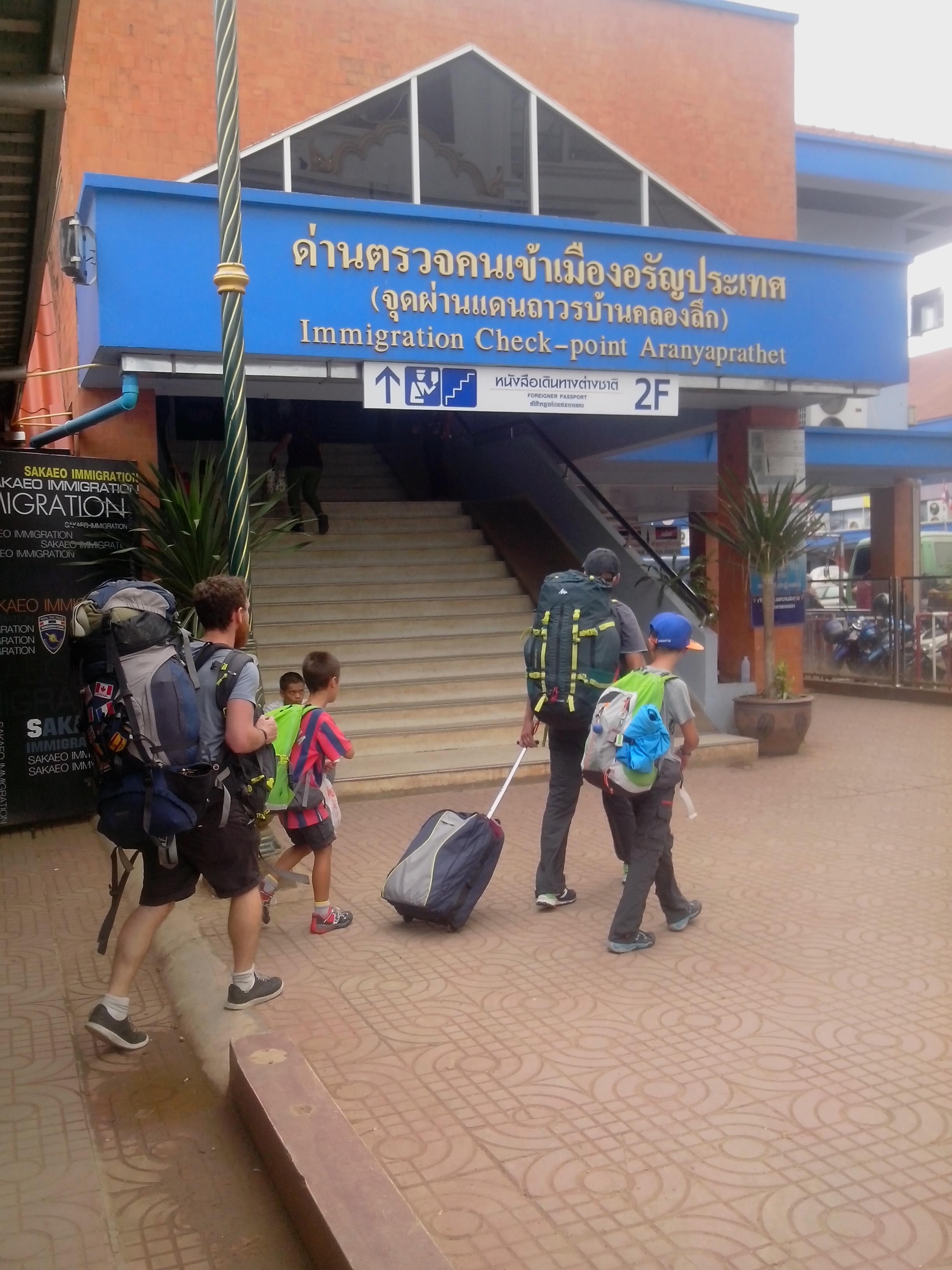 Passage frontiere Aranyaprathet Poipet (4)