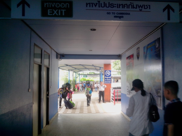Passage frontiere Aranyaprathet Poipet (5)