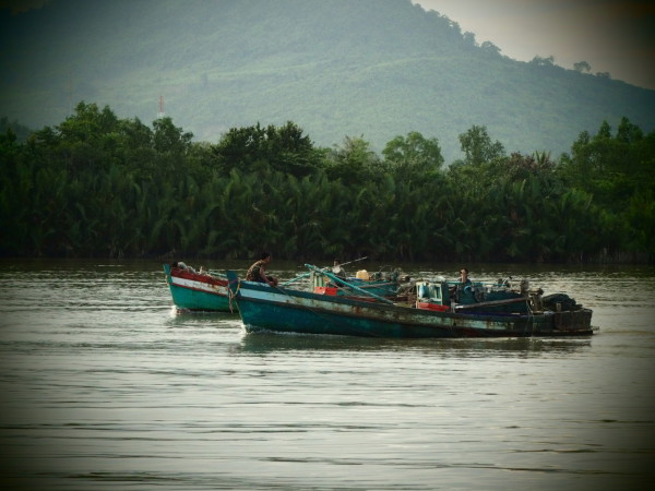 Bateaux de pêche - Les Manguiers - Kampot