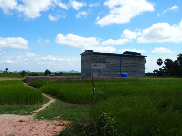Maison d'hirondelles - Kep