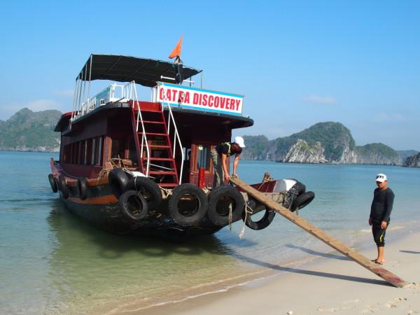 Baies d'Ha Long et Lan Ha - Notre bateau de croisière - Vietnam