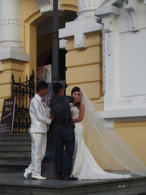 Mariés à Hanoi - Vietnam