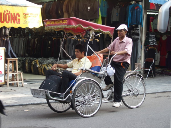 Cyclopousse - Hanoi - Vietnam