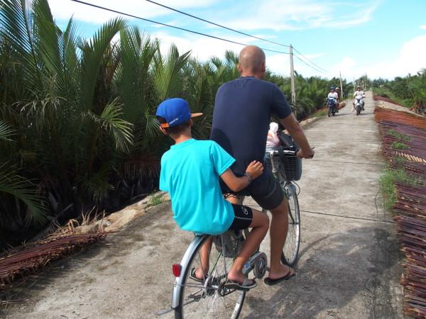 En vélo à Hoi An - Vietnam