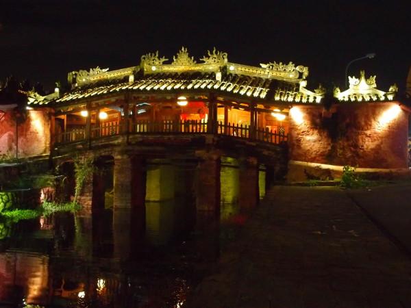 Pont japonais de nuit - Hoi An - Vietnam