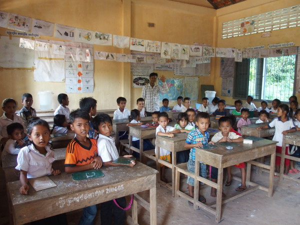 Ecole à Kep - Cambodge