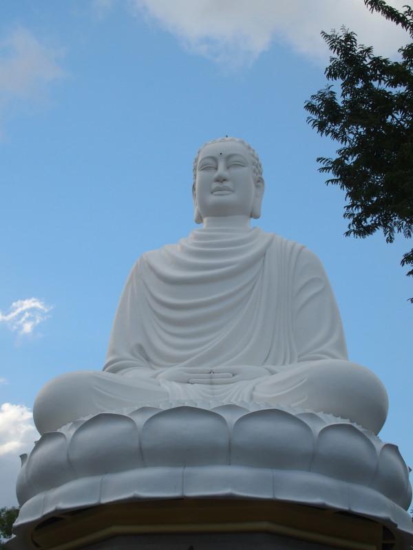 Bouddha assis - Long Son - Nha Trang - Vietnam