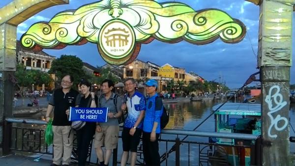 Coréens au sunset - Hoi An - Vietnam