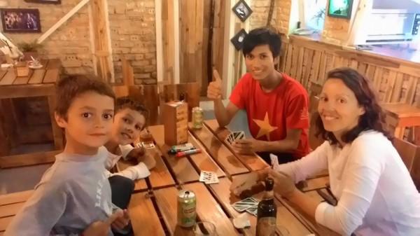 Au Pallet's bar - Huê - Vietnam