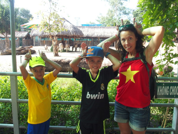Au zoo de Saigon - Vietnam