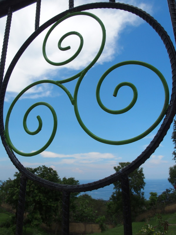 Symbole du Hamsa resort - Lovina - Bali