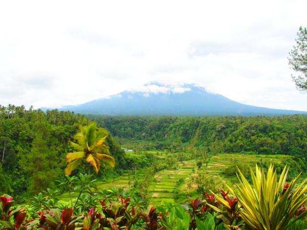 Vue depuis Lereng Agung - Bali