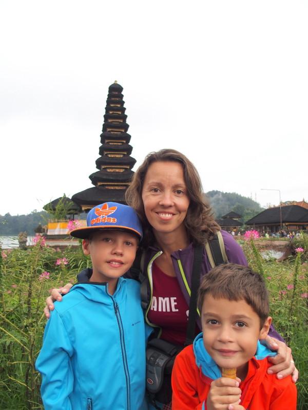 Au temple Bratan - Bali