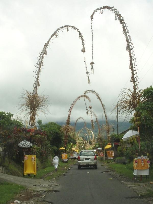 Décorations pour Galungan - Bali