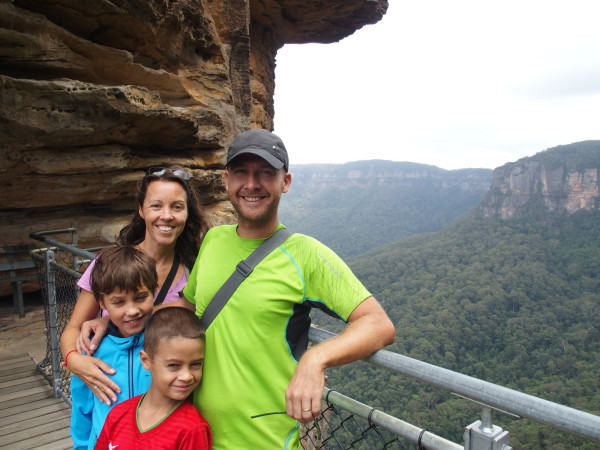 Giant stairway aux Blue Mountains - Australie