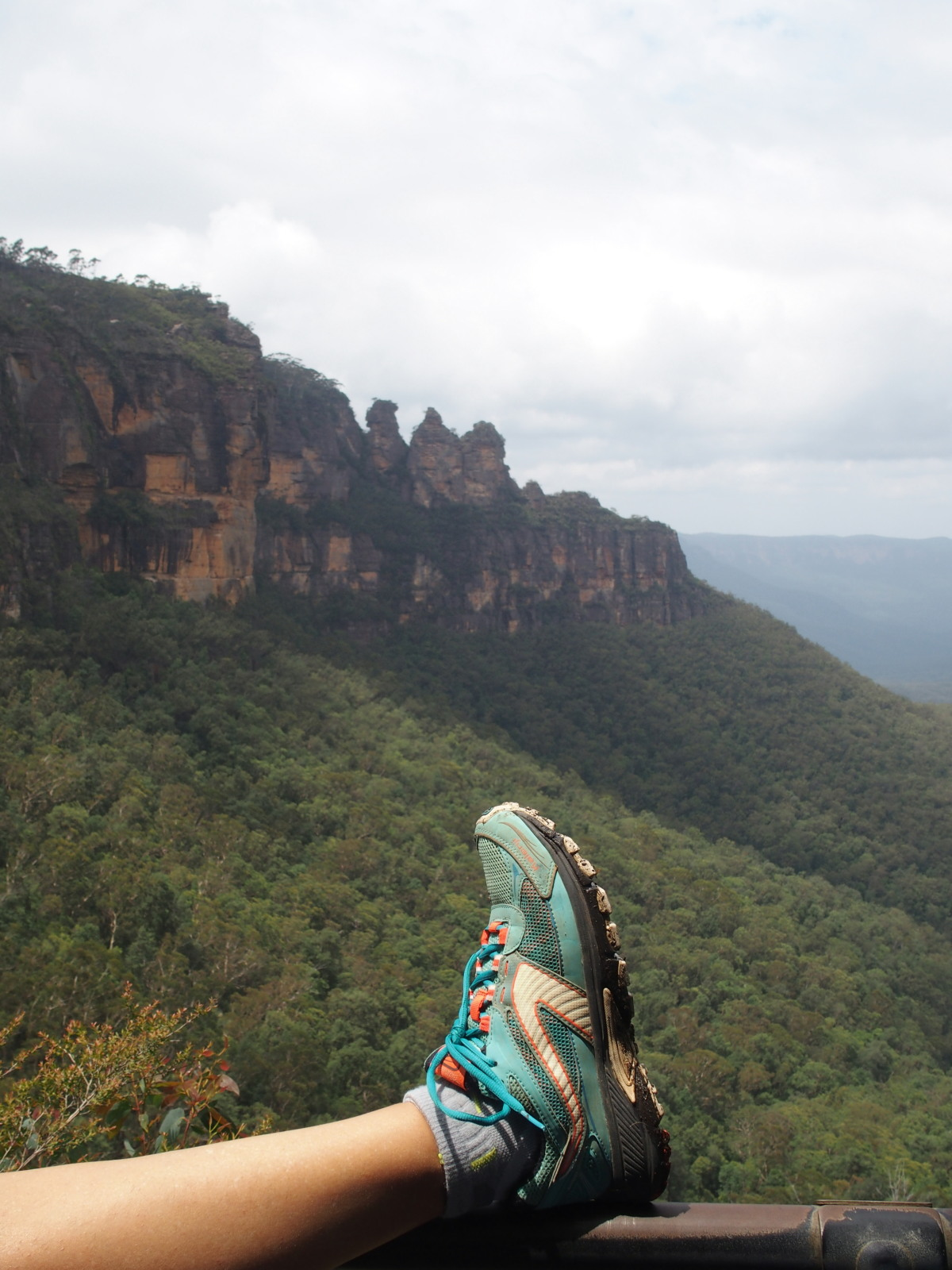 Les Kalenji crossover Decathlon de Guinou aux Blue Mountains en Australie