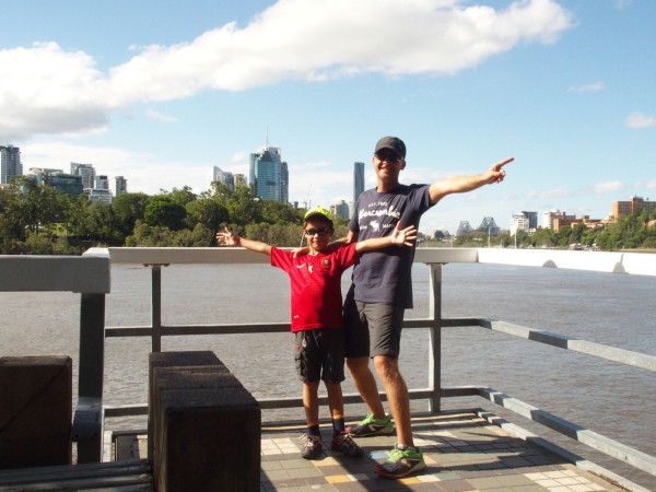 Brisbane - au bord du fleuve - Australie