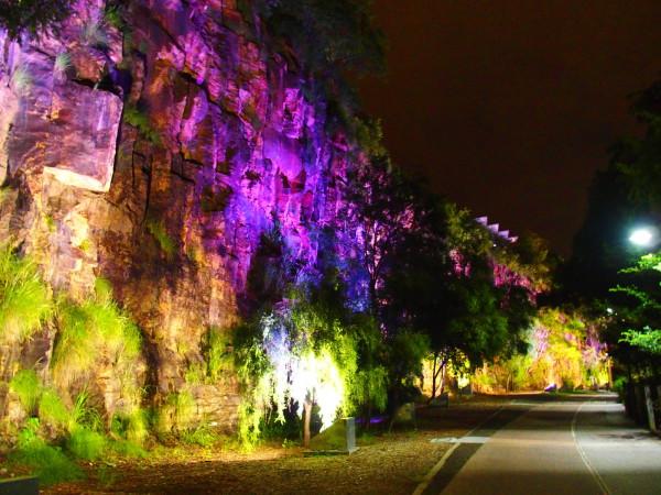Les berges de Brisbane en soirée - Australie