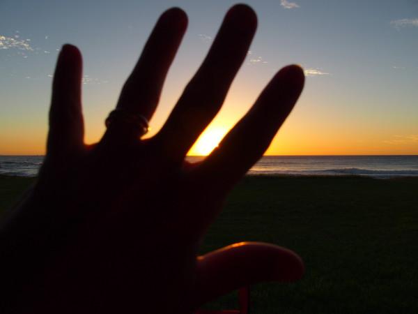 Lever de soleil à Coledale - Australie