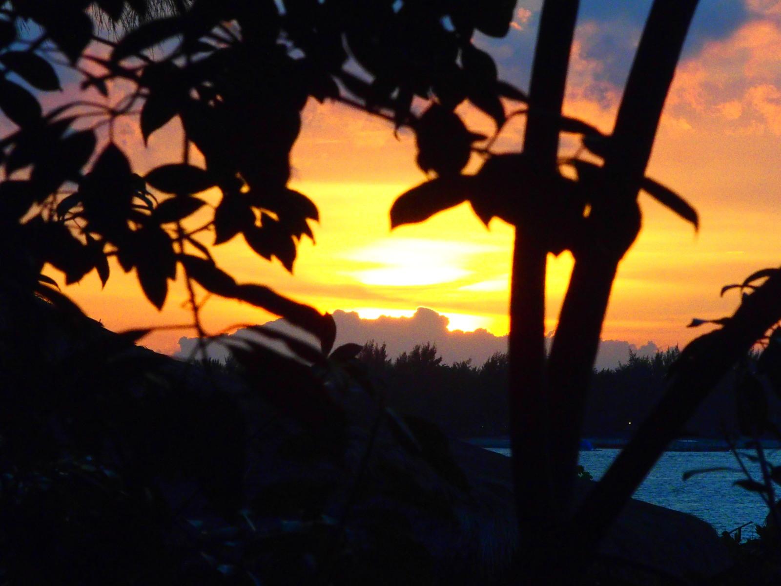 Coucher de soleil à Gili Meno