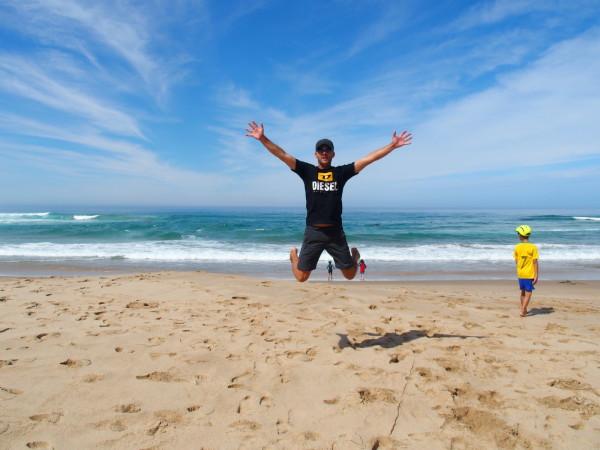 Great Ocean Road - Syl20 saute à Johanna beach - Australie