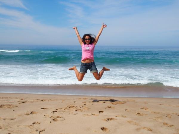 Great Ocean Road - Guinou saute à Johanna beach - Australie