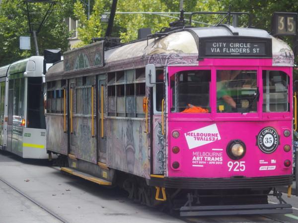 Le tramway de Melbourne - Australie