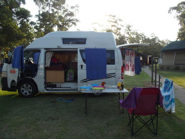 Van à Narooma - Australie
