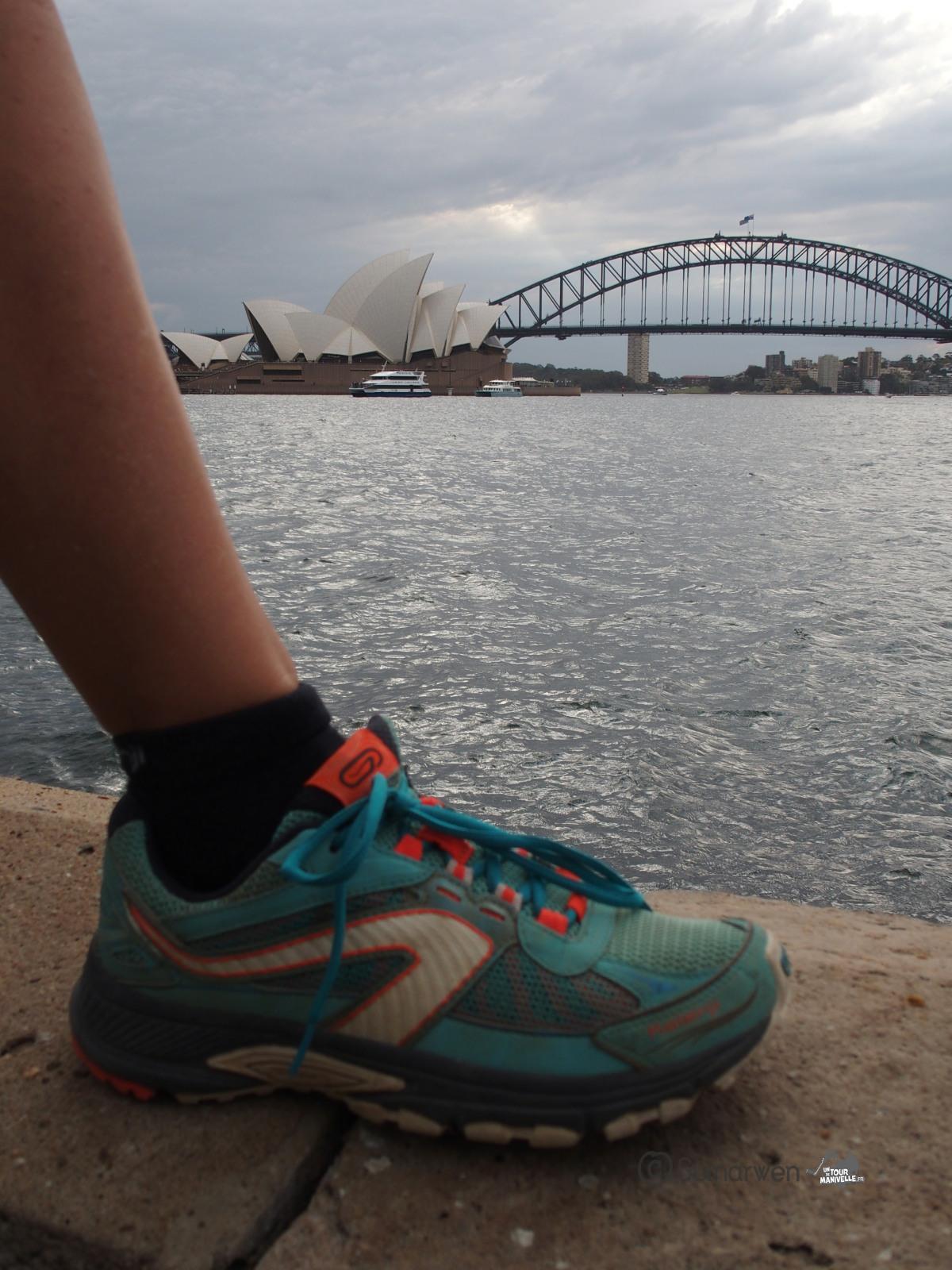 Les Kalenji crossover Decathlon de Guinou à Sydney en Australie